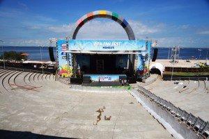 Jogo do Brasil e Israel Novaes abrem Fan Fest