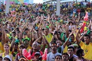 Manaus é destaque nacional no primeiro dia da Copa