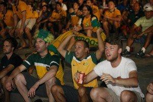 Segundo dia de Fan Fest atrai público estrangeiro à Ponta Negra