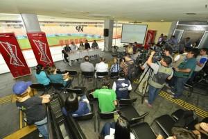FIFA realiza última visita da imprensa na Arena da Amazônia antes do início do mundial