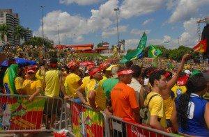 Órgãos do município terão expediente encerrado ao meio-dia nos jogos do Brasil
