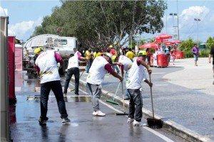 Mais de 1,5 mil pessoas trabalham nos bastidores para garantir o sucesso da Fan Fest em Manaus