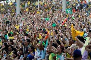Com público de mais de meio milhão, Fan Fest de Manaus foi a terceira maior do país